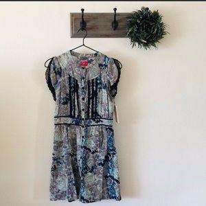 Free People Vintage Looking Lace Dress 4